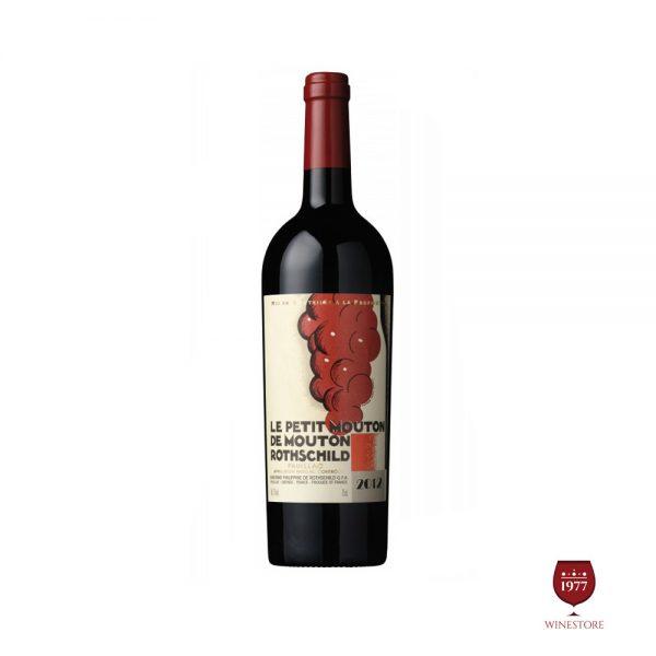 Rượu Vang Le Petit Mouton de Mouton Rothschild – Vang Pháp Nhập