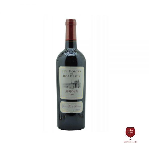 Rượu Vang Les Portes de Bordeaux – Vang Đỏ Pháp Nhập Khẩu 100%