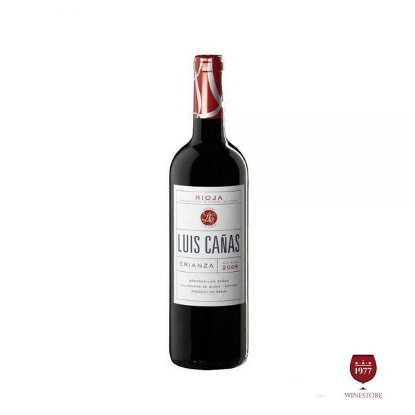 Rượu Vang Luis Canas Crianza – Vang Tây Ban Nha Nhập Khẩu