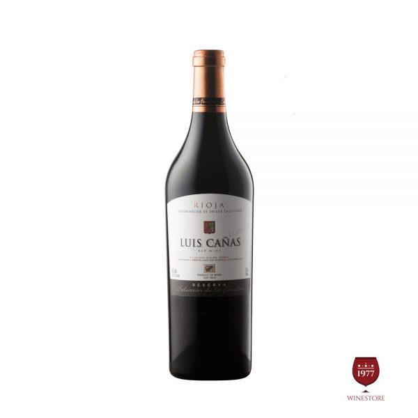 Rượu Vang Luis Canas La Familia – Vang Tây Ban Nha Nhập Khẩu