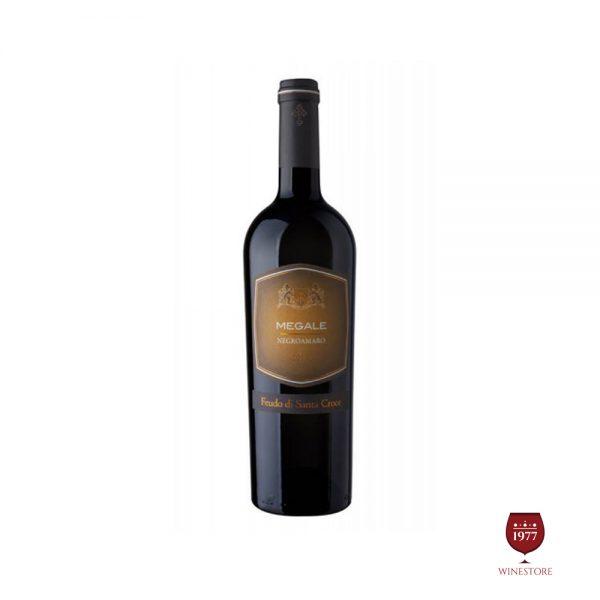 Rượu Vang Megale NegroAmaro Salento Giorgio – Vang Ý Cao Cấp