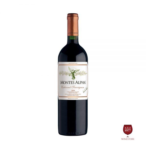Rượu Vang Montes Alpha Cabernet Sauvignon – Vang Chile 10 Tuổi
