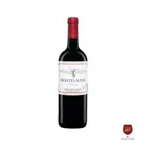 Rượu Vang Montes Alpha Merlot