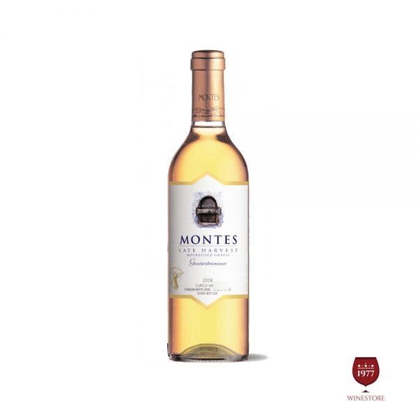 Rượu Vang Montes Late Harvest Gewurztraminer Botrytised Cao Cấp
