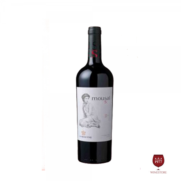 Rượu Vang Mousai Shiraz – Vang Chile 5 Cô Gái