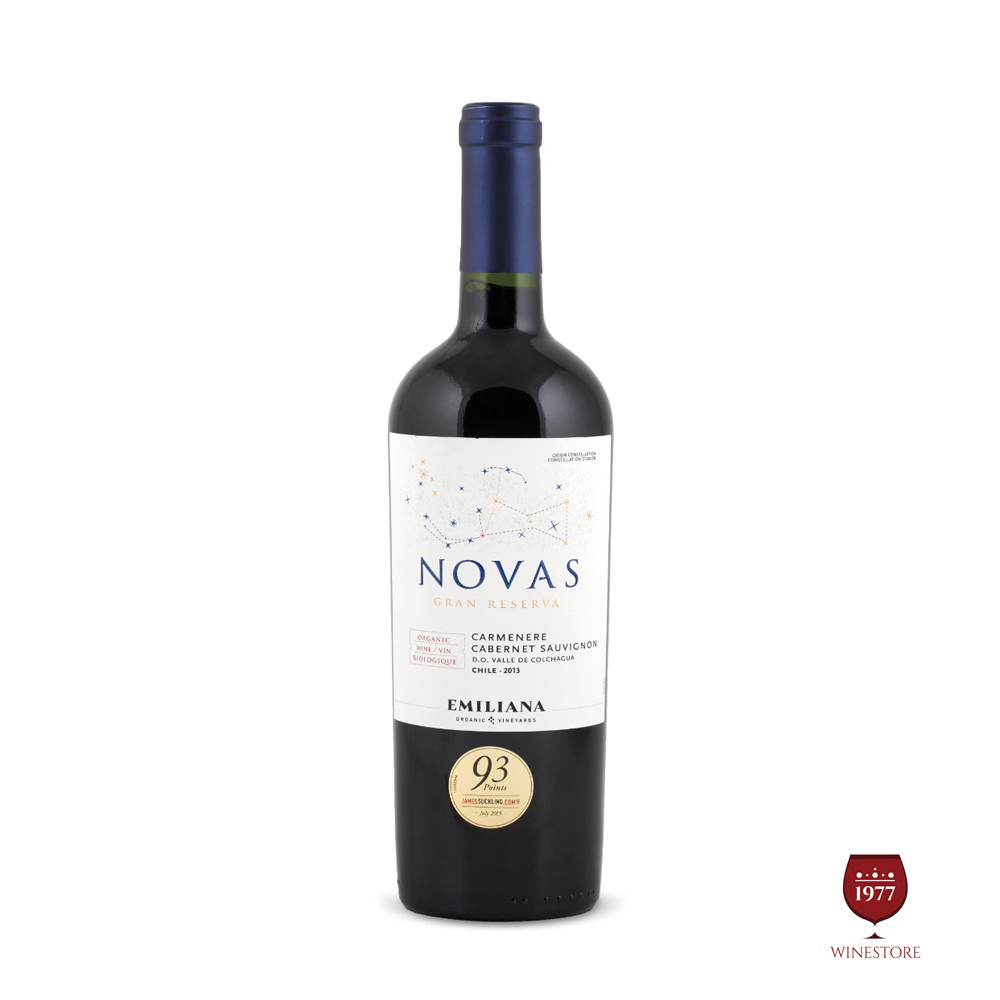 Rượu Vang Chile NOVAS 2013 Gran Reserva Carmenere Cab Sauvignon