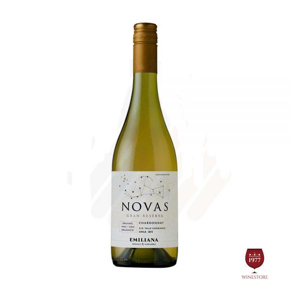 Rượu Vang Chile NOVAS 2015 Gran Reserva Chardonnay