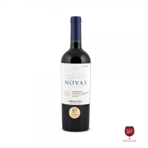 Rượu Vang Chile Novas Gran Reserva Carmenere Cabernet Sauvignon