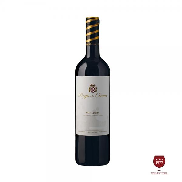 Rượu Vang Pago de Cirsus Oak Aged – Vang Tây Ban Nha