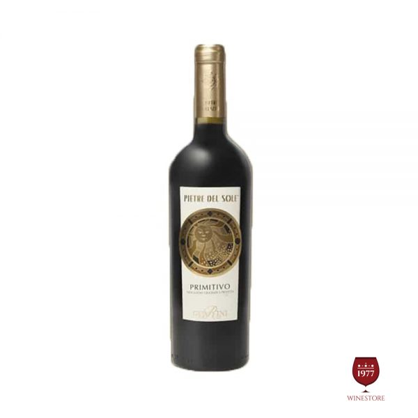 Rượu Vang Pietre del Sole Primitivo – Vang Ý Ngon Chất Lượng