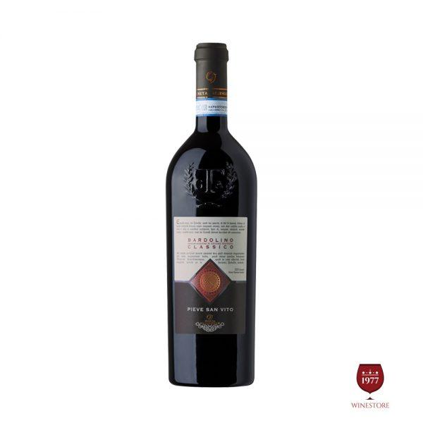 Rượu Vang Pieve San Vito Bardolino Classico – Vang Ý Giá Tốt Nhất