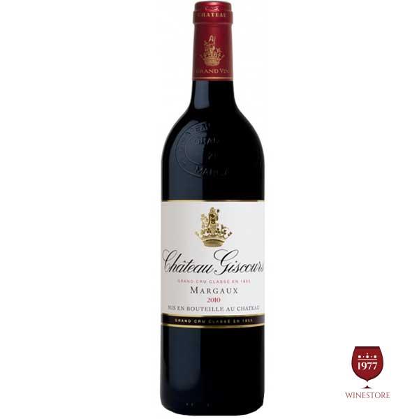 Rượu Vang Chateau Giscours – Vang Pháp Margaux Grand Cru