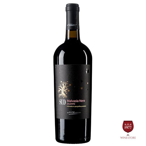 Rượu Vang SUD Malvasia Nera – Vang Ý Giá Tốt Chất Lượng