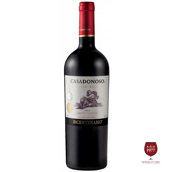 Rượu vang Chile CASADONOSO Bicentenario Cabernet Sauvignon