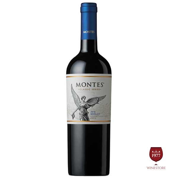 Rượu vang Montes Classic Series Merlot – Giá Tốt, Chiết Khấu Cao
