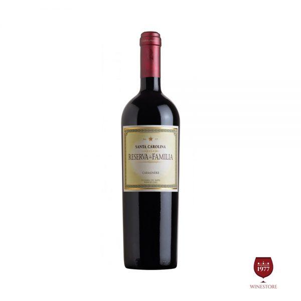 Rượu vang Santa Carolina Reserva De Familia Carmenère