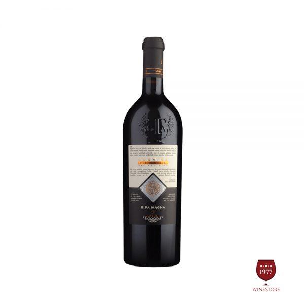 Rượu Vang Ripa Magna Corvina Verona – Vang Ý 100% Nhập Khẩu