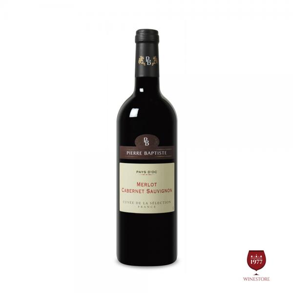 Rượu Vang SJ Merlot Pays DOC IGP – Vang Pháp Nhập Khâu