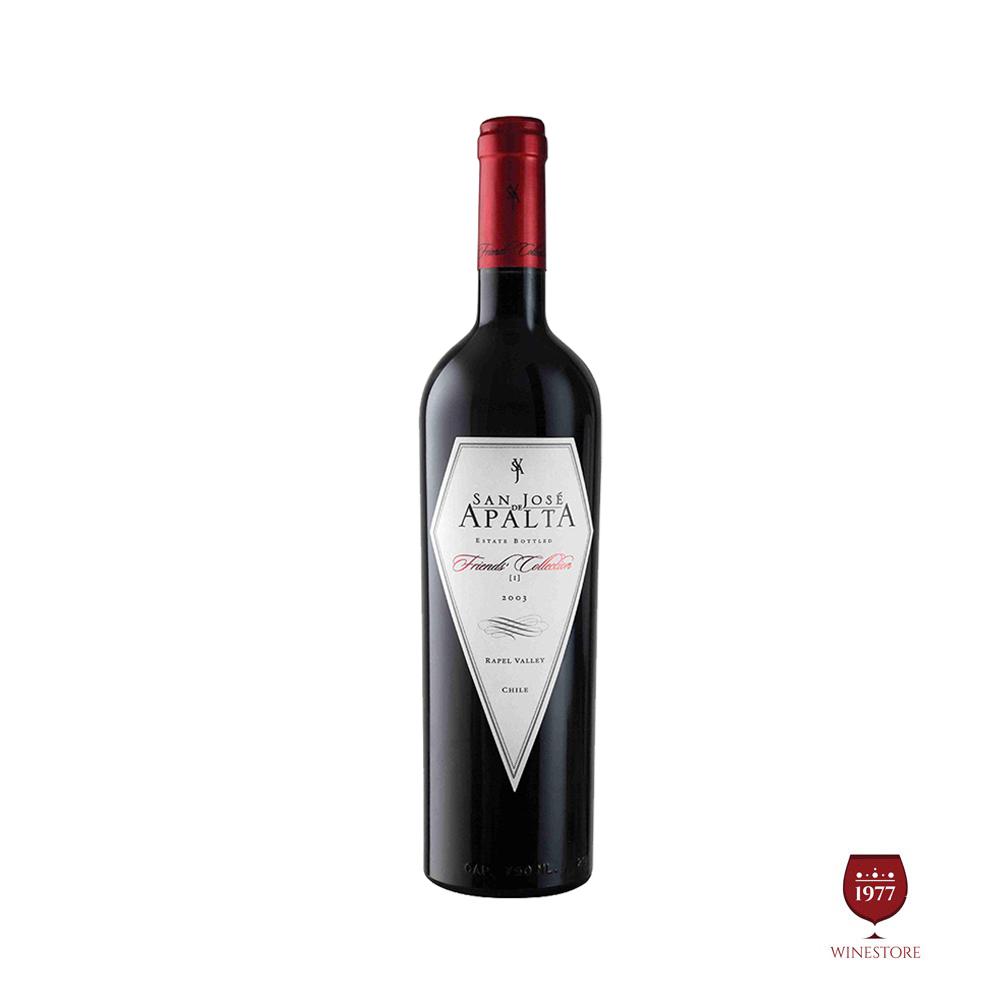 Rượu Vang Chile San Jose de APALTA Trandition Cabernet Sauvignon