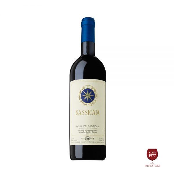 Rượu Vang Sassicaia 2013 Bolgheri – Vang Ý Cao Cấp Làm Quà Tặng