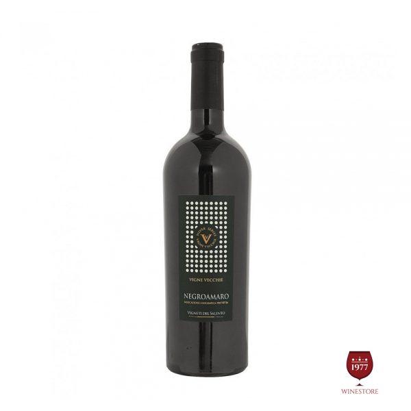 Rượu Vang Vigne Vecchie Negroamaro – Vang Ý Ngon Cao Cấp