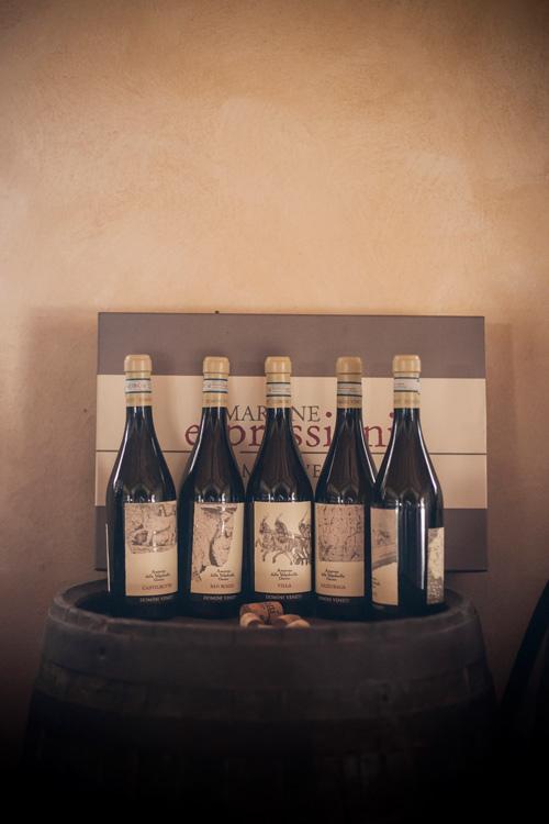 bộ 5 sản phẩm vang Amarone
