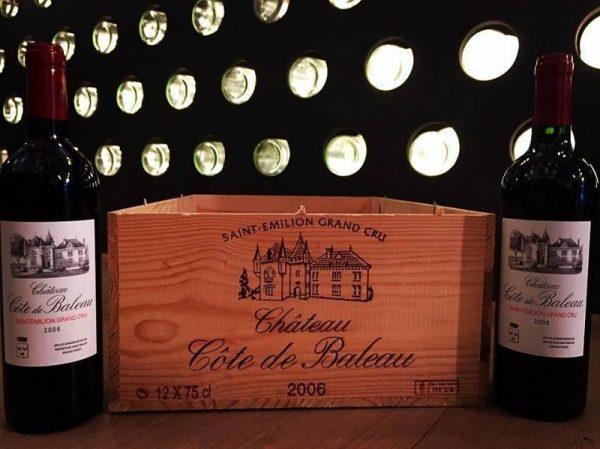 giới thiệu rượu vang chateau cote de baleau