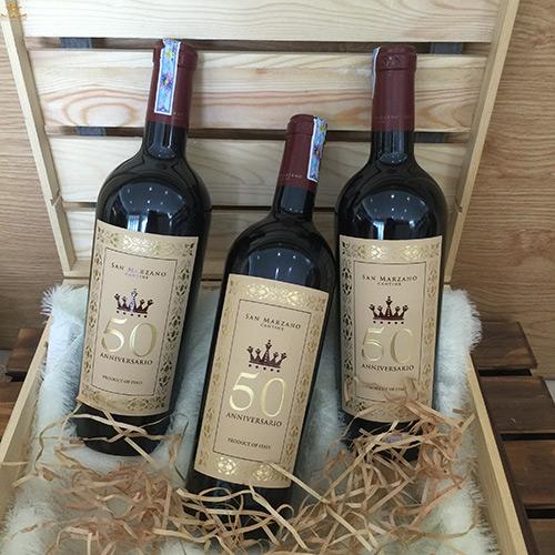 đặc điểm của rượu vang 50 Anniversario
