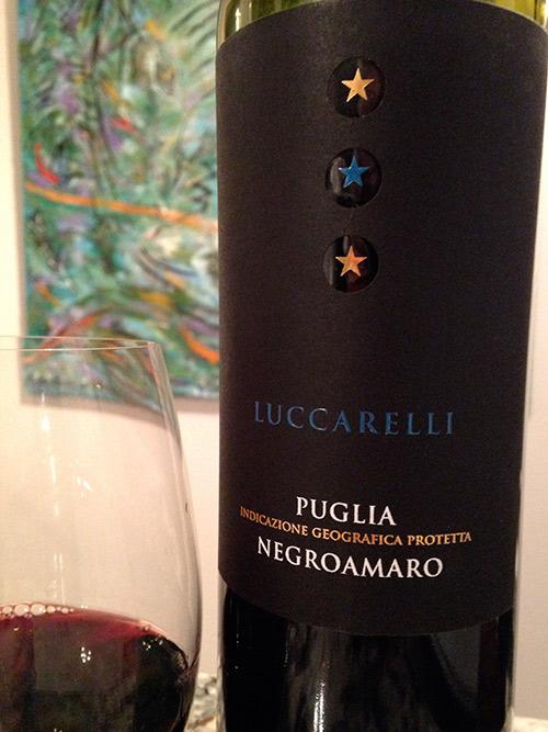đặc điểm của vang ý Luccarelli