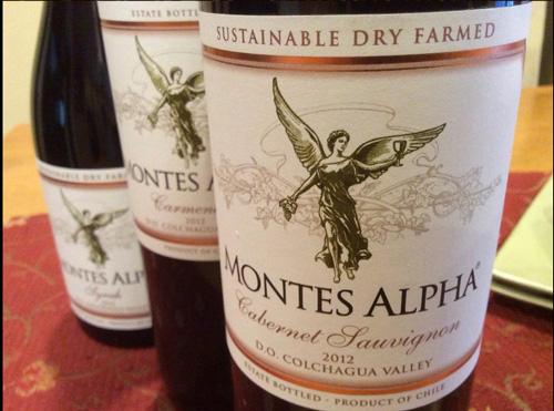 đặc điểm vang Chile Montes Alpha Cabernet Sauvignon