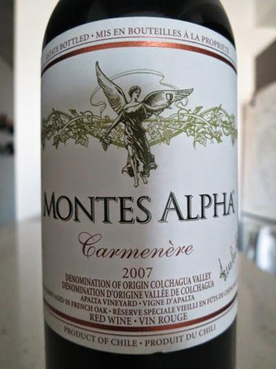 đặc điểm vang Chile Montes Alpha Carmenere