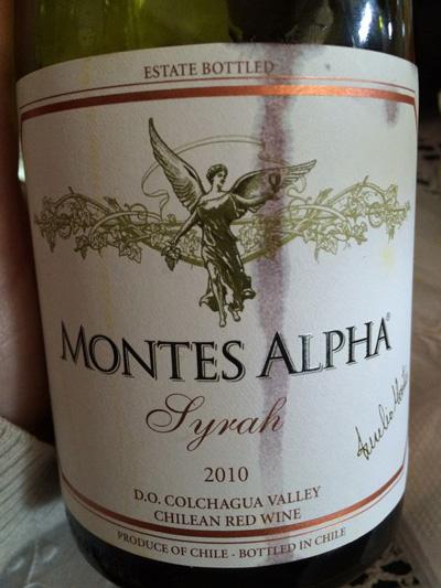 đặc điểm vang Montes Alpha Syrah