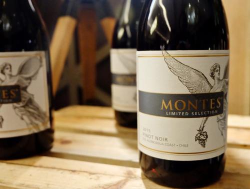 đặc điểm vang Montes Limited Selection Pinot Noir