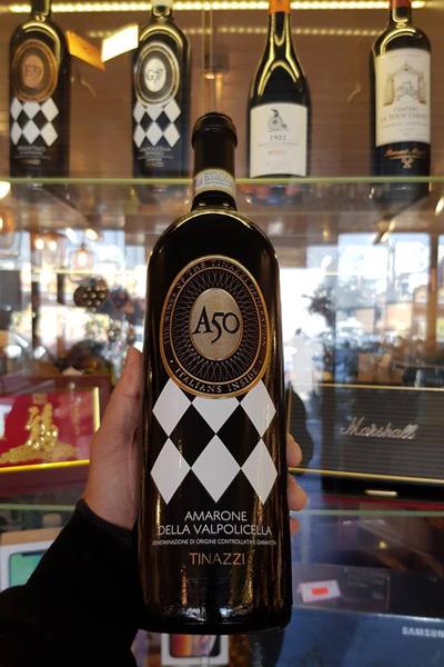 đặc điểm vang Ý A50 Amarone
