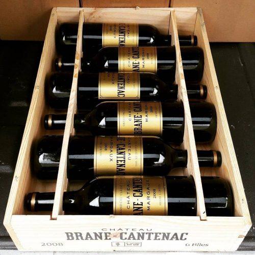 giá bán của rượu vang chateau brane cantenac