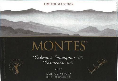 giới thiệu Montes Limited Selection Cabernet Sauvignon Carmenere