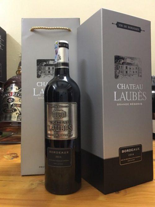 giới thiệu rượu vang Chateau Laubes