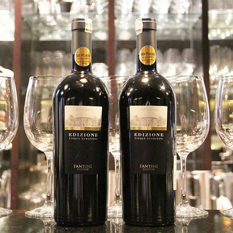 giới thiệu rượu vang edizione blend