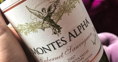giới thiệu rượu vang montes alpha cabernet sauvignon