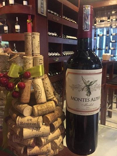 giới thiệu rượu vang Montes Alpha Merlot