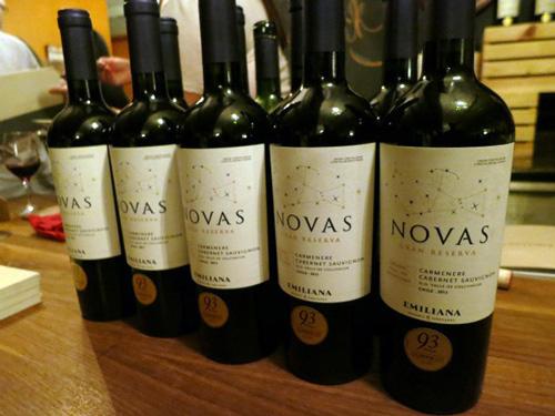 giới thiệu rượu vang novas gran reserva