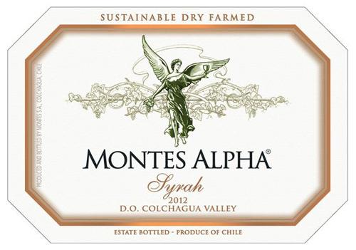 quy trình sản xuất montes alpha syrah