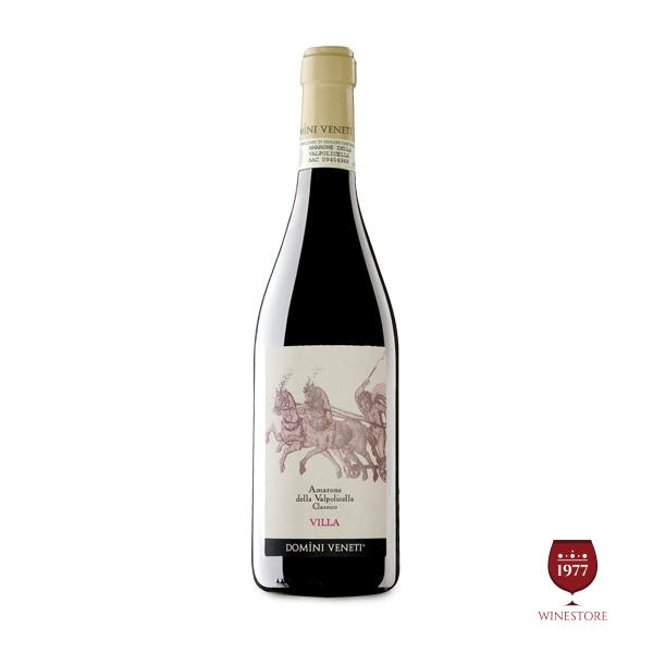 Rượu Vang Ý Cao Cấp Amarone Villa – Bộ 5 Sản Phẩm