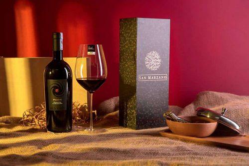 rượu vang cao cấp Pazzia Primitivo