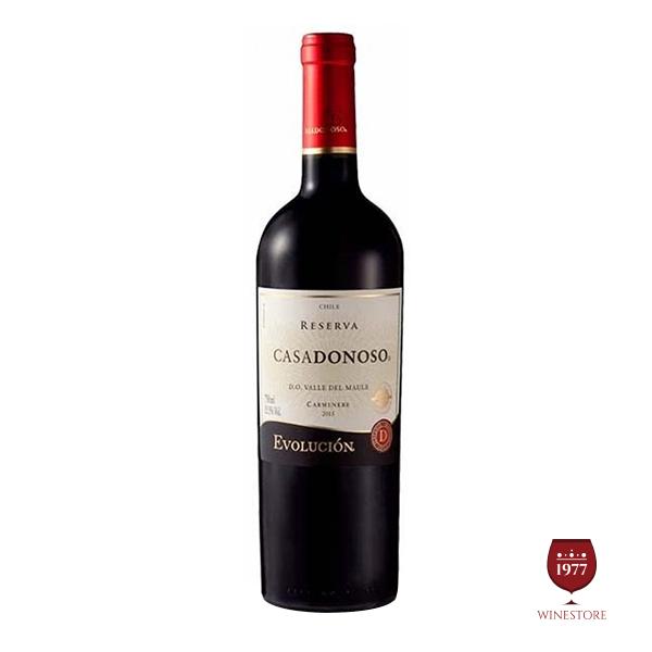 Rượu vang Chile CASADONOSO Evolucion Reserva Cabernet Sauvignon