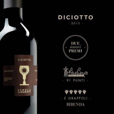 rượu vang chén thánh cao cấp Diciotto