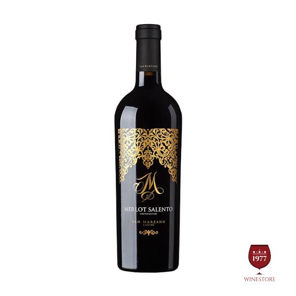Rượu Vang Ý M Limited Cao Cấp – 100% Chính Hãng