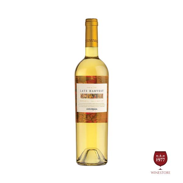 Rượu Vang Undurraga Reserva Late Harvest 0.375L – Vang Chile