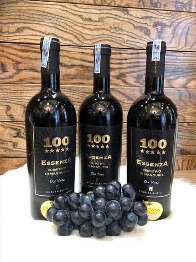 Rượu vang ý cao cấp 100 Essenza