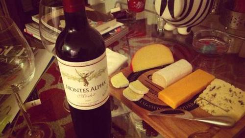 thưởng thức vang chile Montes Aplha Merlot